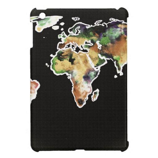 watercolored world 2 cover for the iPad mini