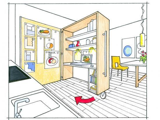 Kleine Küche ganz groß - next line küchen