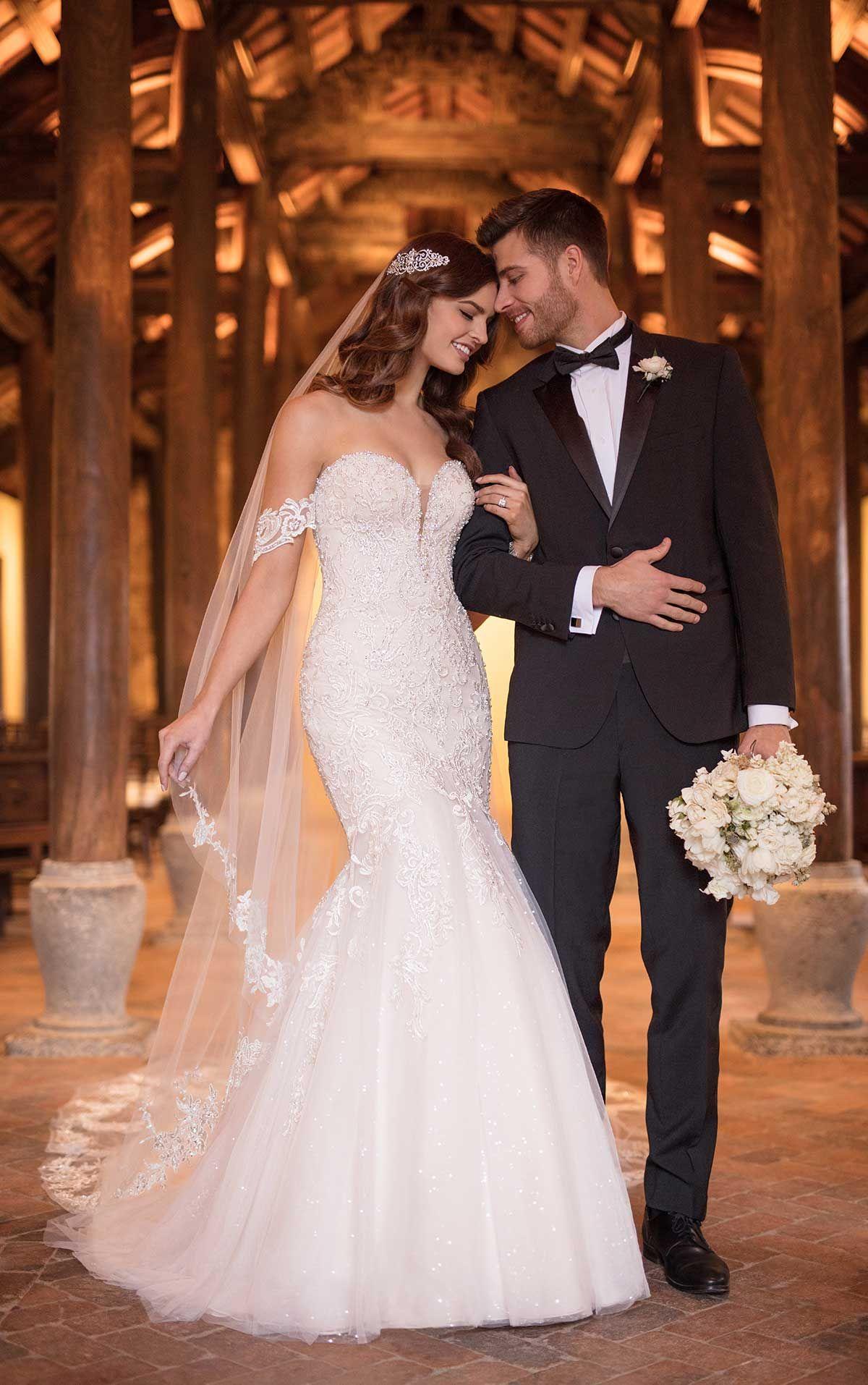 Dreamy Chic Essense Of Australia Wedding Dresses Fall 2018