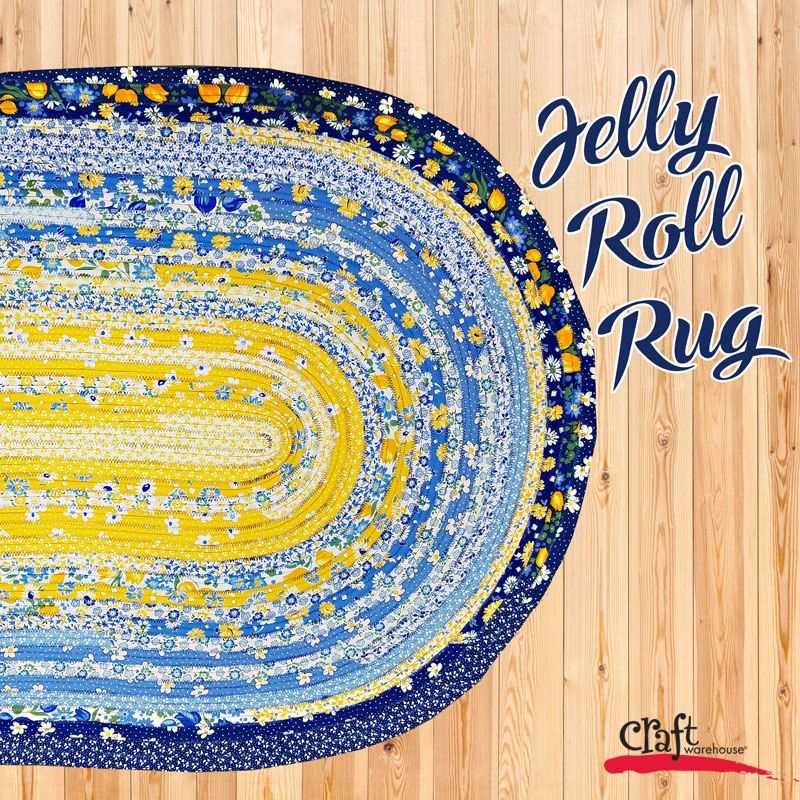 Sew This: Jelly Roll Rugs!