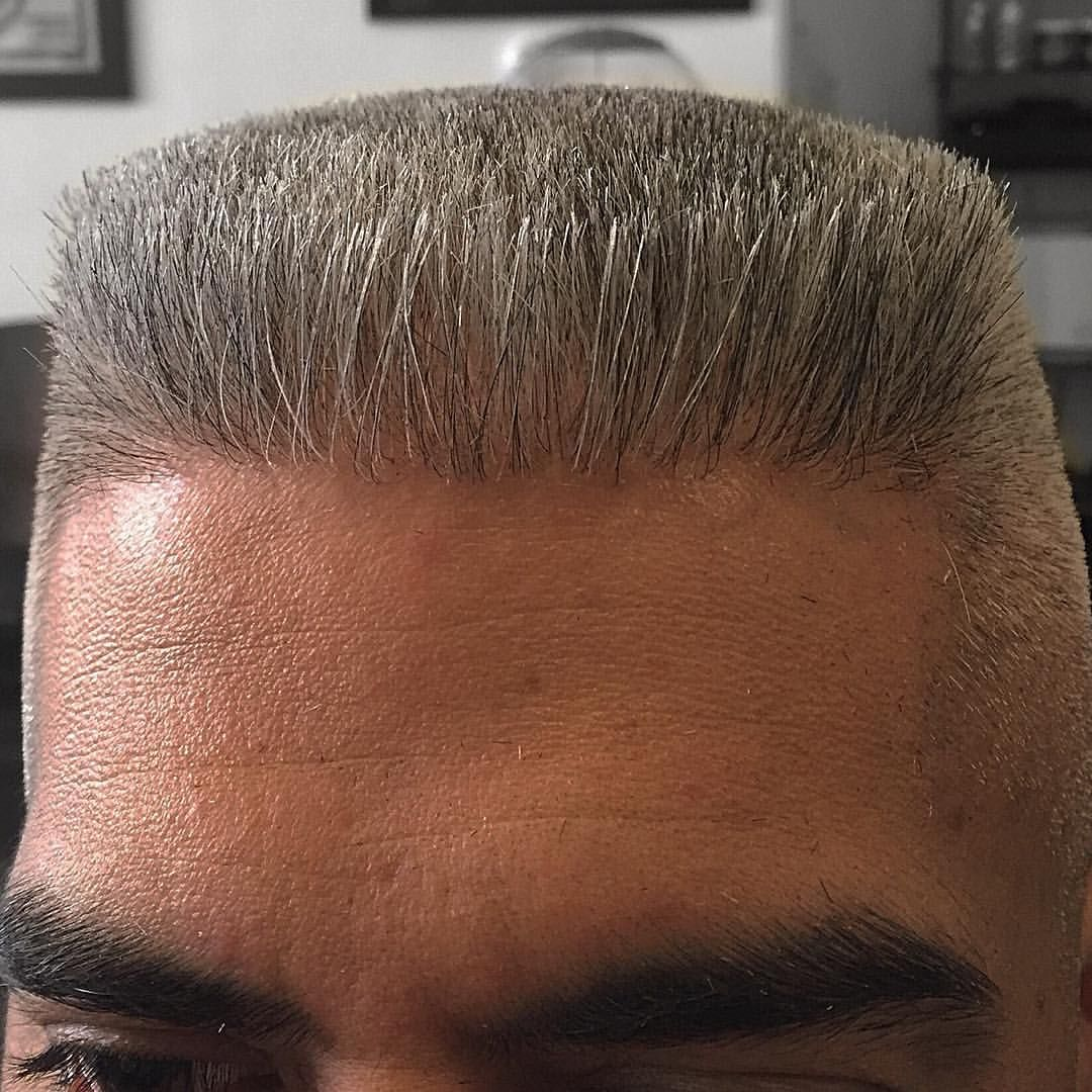Boxy Flattop With A Rounded Back Cut By Freehand With Andis