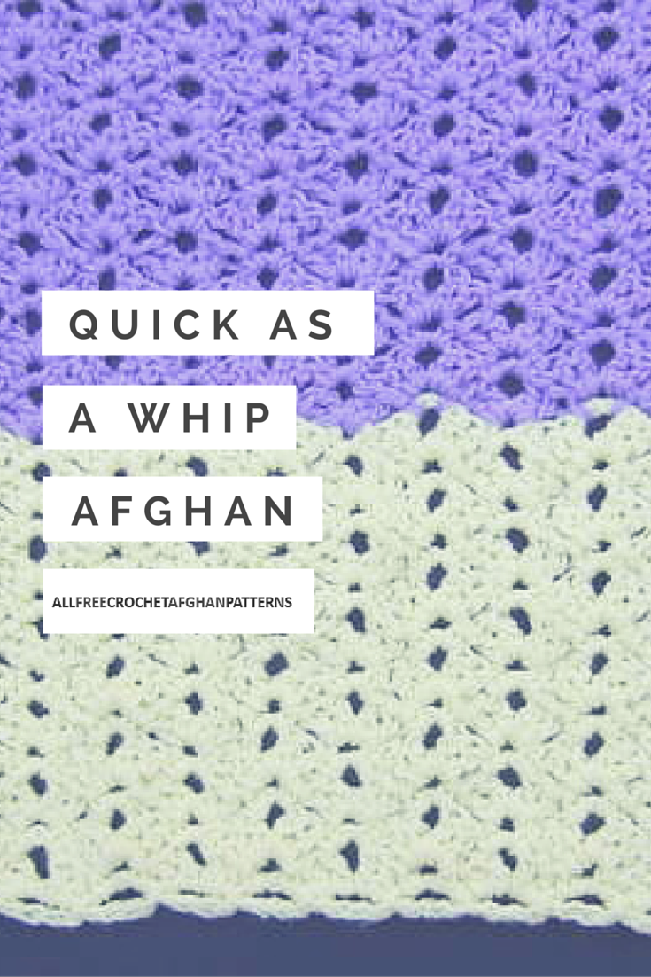 Quick as a Whip Afghan