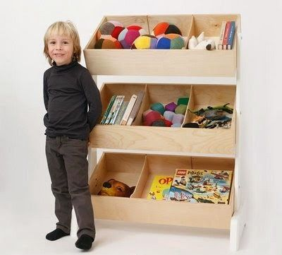 The Toy Store Is An Innovative Storage System With Three Tiers Of Storage  Bins, Ideal For Books And Toys.