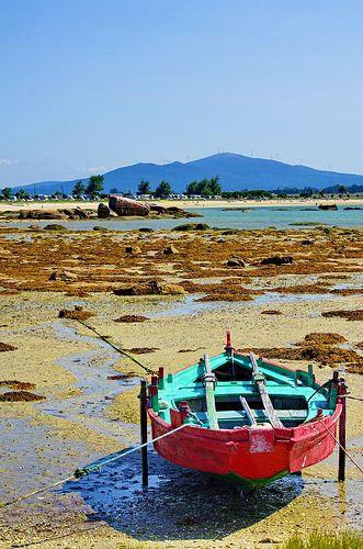Cambados Galice  Illa de Arousa, Spain    por paspog