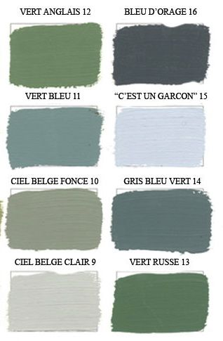 Such an array colors green pinterest for Chambre vert de gris
