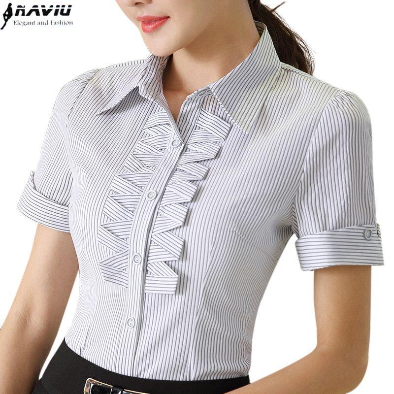 Camisa Manga Corta Mujer Worket ®