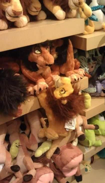 Hahaha!! If I'm ever in a Disney store, I know what I'm going to do