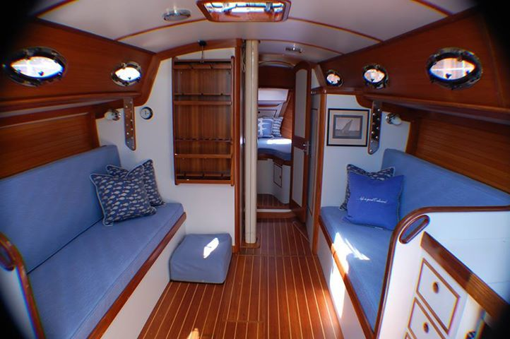 Superior Upholstery In Sailboat Cabins   Google Search