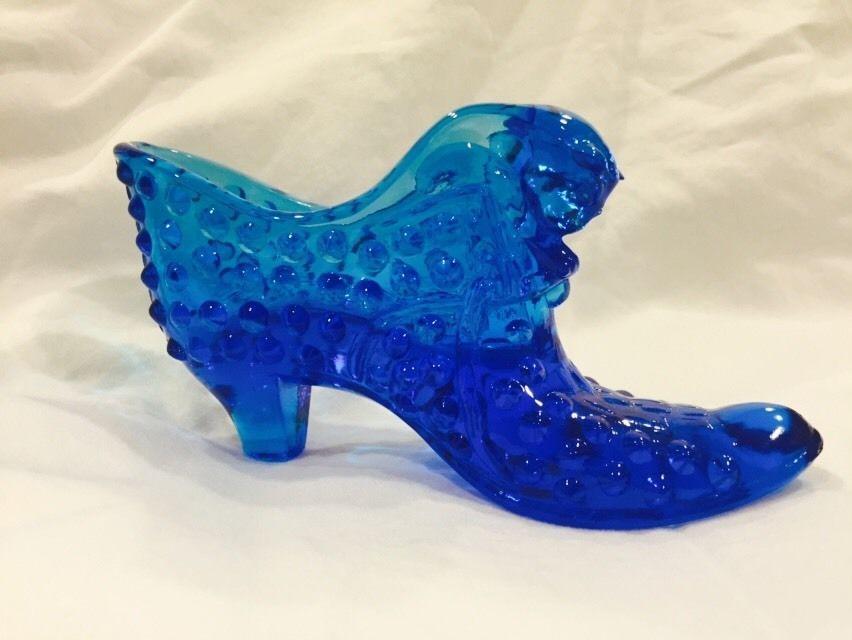Fenton Gl Shoe Slipper Cobalt Blue