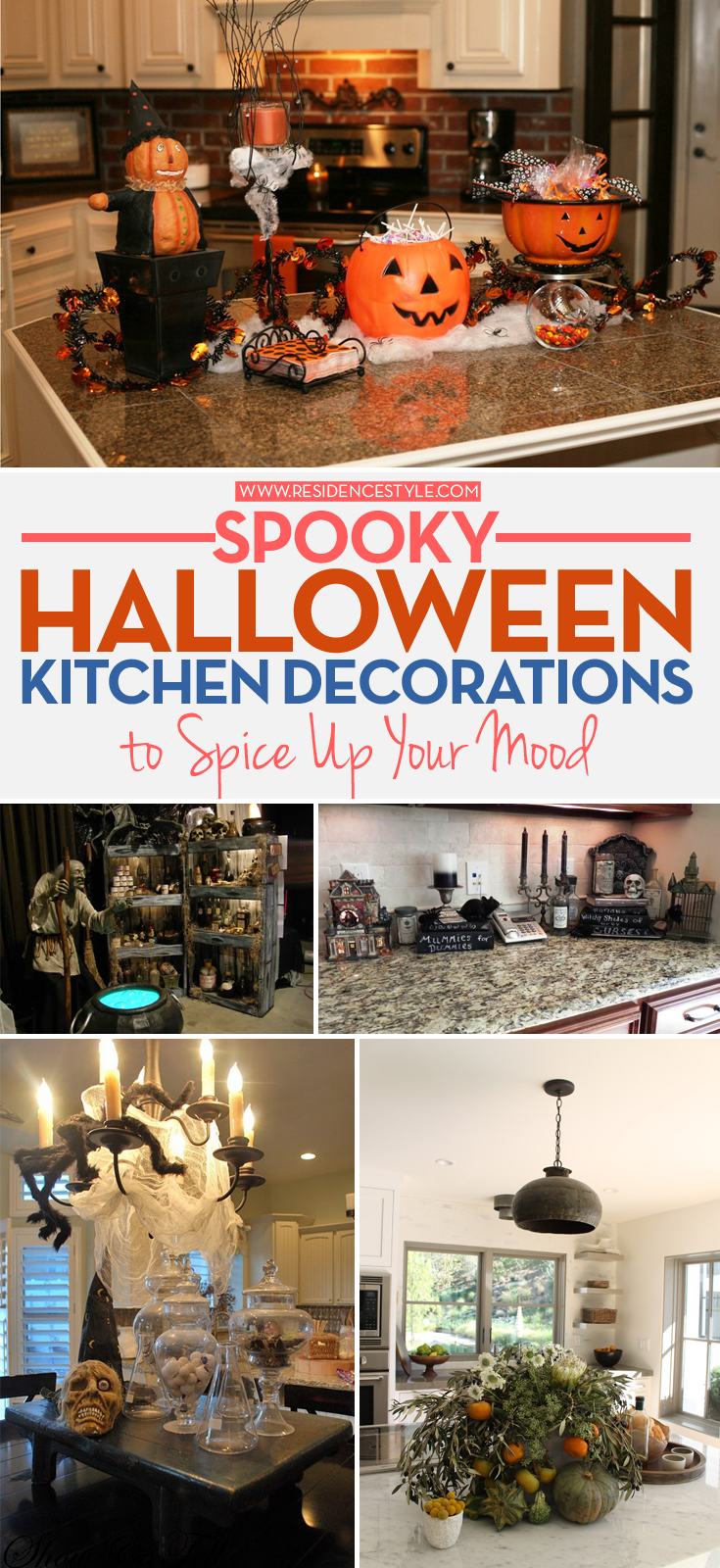 kitchen halloween decoration