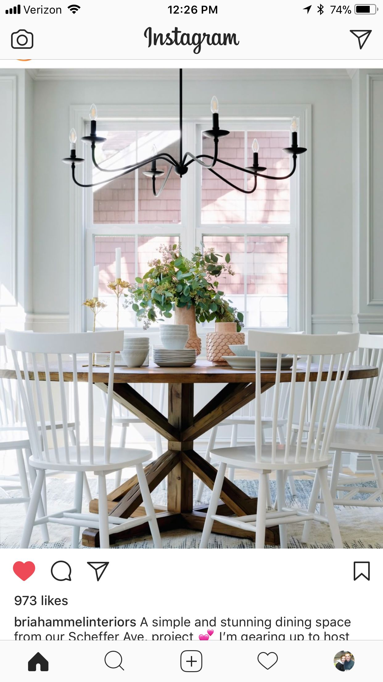 Pin by Ashley Spinelli on Kitchen Farmhouse dining room