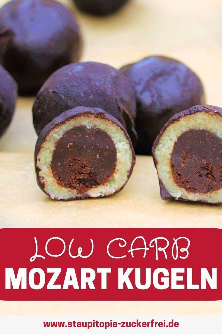 Mozart Kugeln ohne Zucker - Staupitopia Zuckerfrei