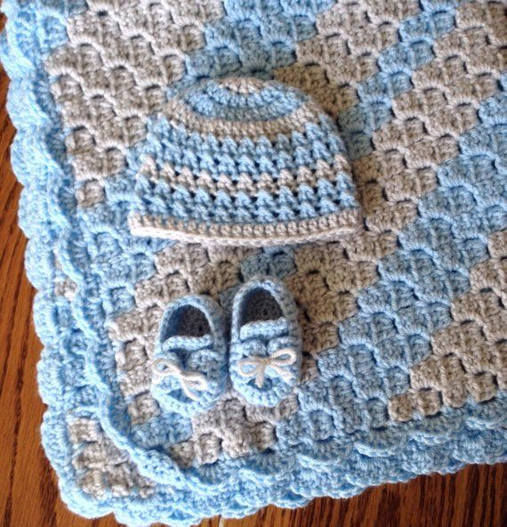 Photo of Baby Boy Blue Set (PATTERNS ONLY)