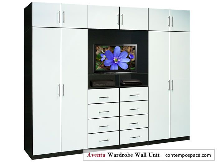 Aventa Collection New Bedroom Tv Furniture Includes Wardrobe Storage Contempo E