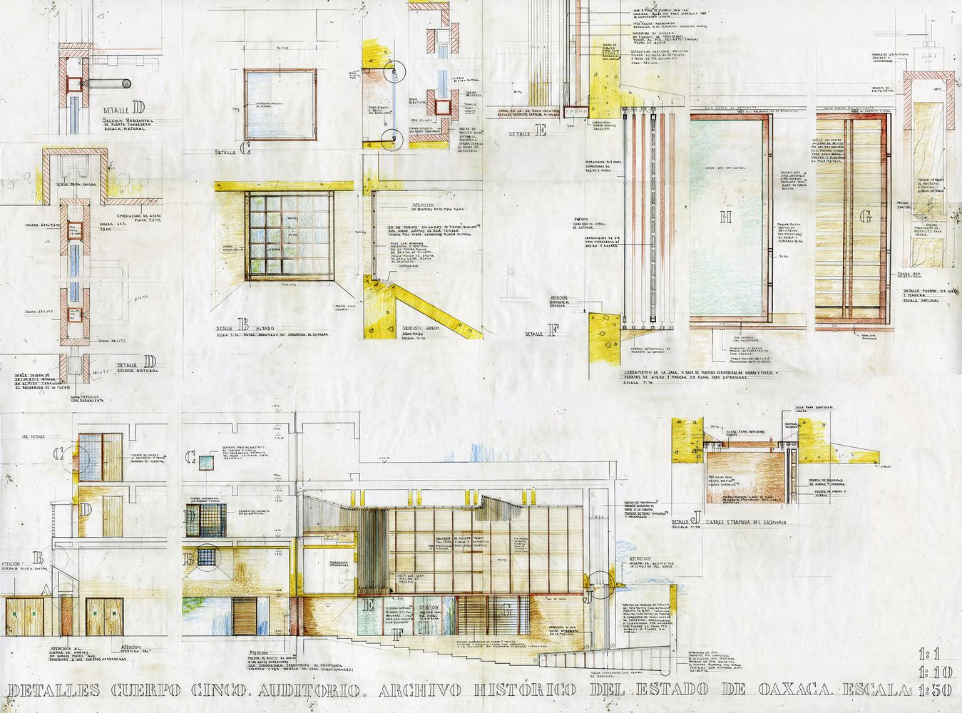 architectural drawings of buildings. Gallery Of Oaxaca\u0027s Historical Archive Building / Mendaro Arquitectos - 33 Architectural Drawings Buildings