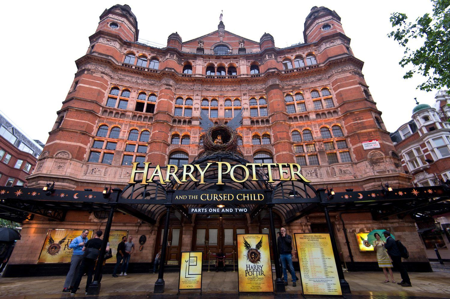 Harry Potter And The Cursed Child Is Opening On Broadway Next Year Harry Potter Broadway Broadway London