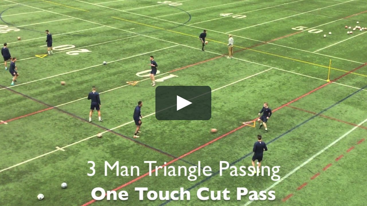 This Is 3 Partner Triangle Passing By The Triangle Training Method On Vimeo The Home For High Quality Videos And Soccer Soccer Passing Drills Soccer Drills