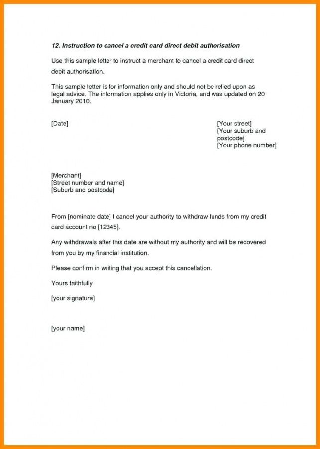 Get Our Sample Of Credit Card Cancellation Letter Template Lettering Letter Templates Free Letter Templates