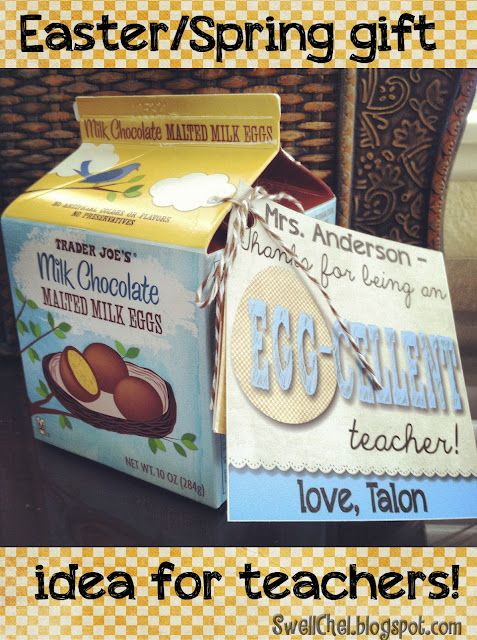 Easterspring gift for teachers with free download thanks for easterspring gift idea for teachers negle Choice Image