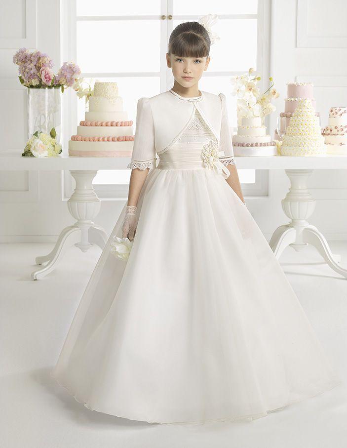 vestidos de novia y vestidos de fiesta | rosa clarÁ | comuniÓn y
