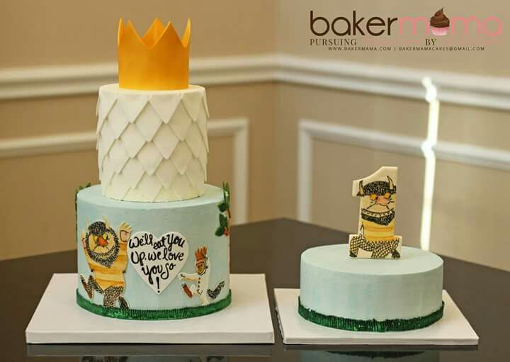 Where The Wild Things Are Cake Wild One Birthday Party Boy