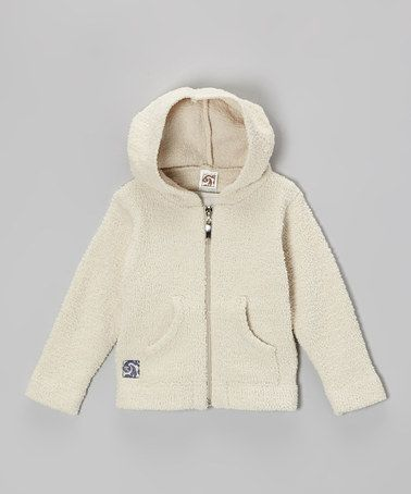 Beige Zip-Up Hoodie - Infant & Toddler by Kashwére on #zulily