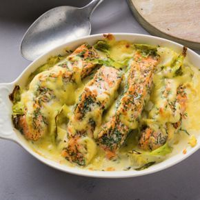 Photo of Salmon and cabbage bake