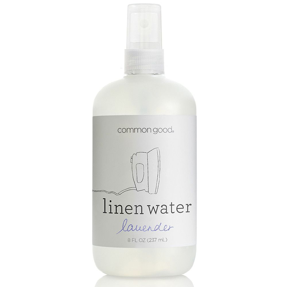 Common Good Linen Water: Lavender #prettypackaging