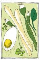 mmmmm: een lentesalade met asperges