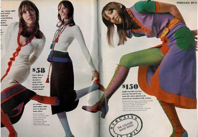 60s/70s fashion editorial