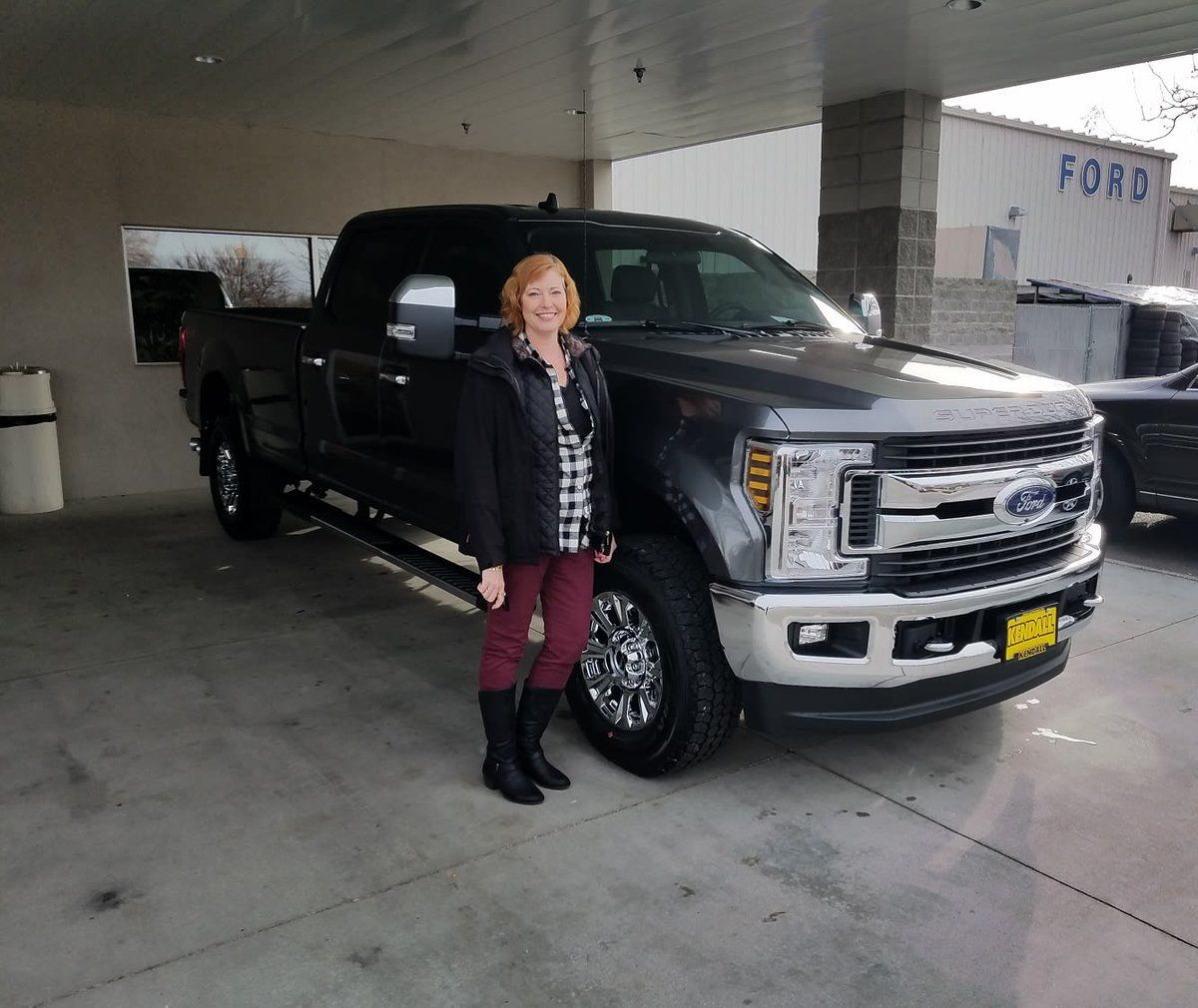 Congrats Daniel And Brenna Sartain On Your New 2019 Ford