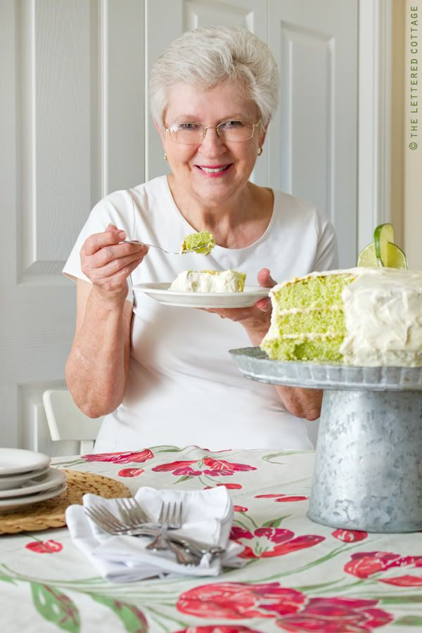 """I will make this.  Original pinner said ~ Made this cake and Every Single Person said, """"Wow"""" after their first bite.  Secret:  Lime Jello gives it the green color, lime juice mixed with sugar poured over the warm cake layers makes it puckery good, and the cream cheese frosting is, well . . . the frosting on the cake!"""
