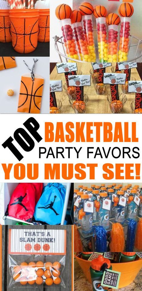 Best Basketball Party Favors Amazing Basketball Party Favor Ideas You Must See Find Basketball Party Favors Basketball Party Basketball Birthday Party Favors