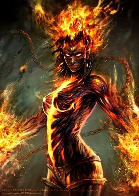 Univers f rique 1 en 2019 fantasy bilder zeichnungen et feuer bilder - Dessin diablesse ...