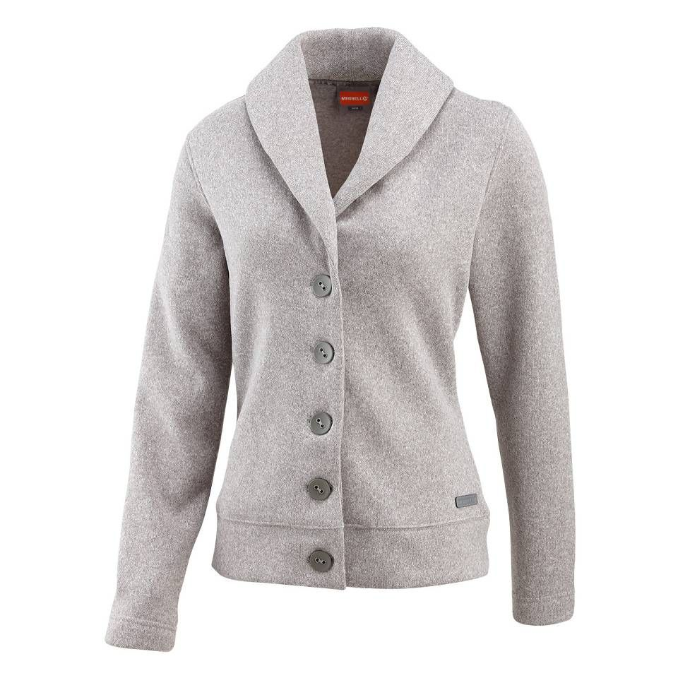 Check out the Merrell Women's Arabella Button-Up Fleece Cardigan ...