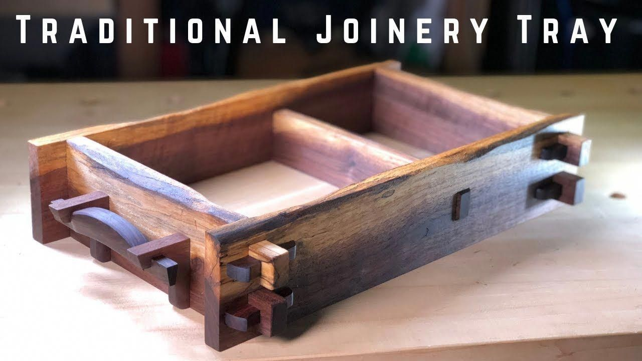 Making A Traditional Joinery Tray Japanese Inspired Woodworking Finewoodworkingfurniture Holzbearbeitung Holz Meissel