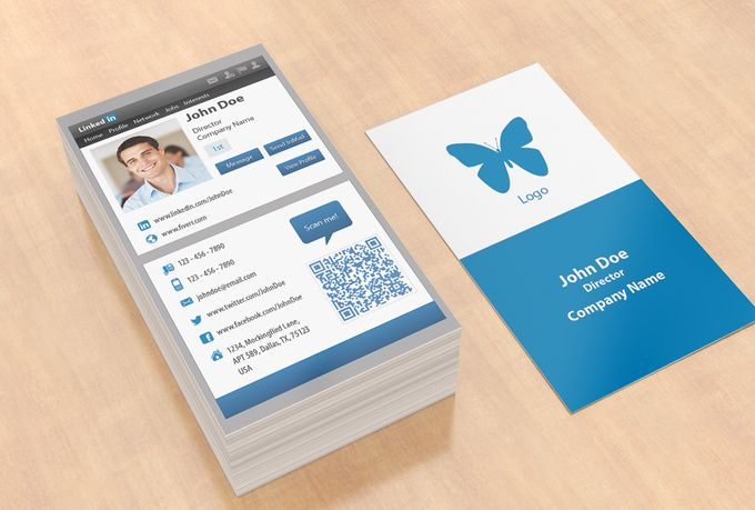Business card linkedin bing images career pinterest business business card linkedin bing images reheart Images