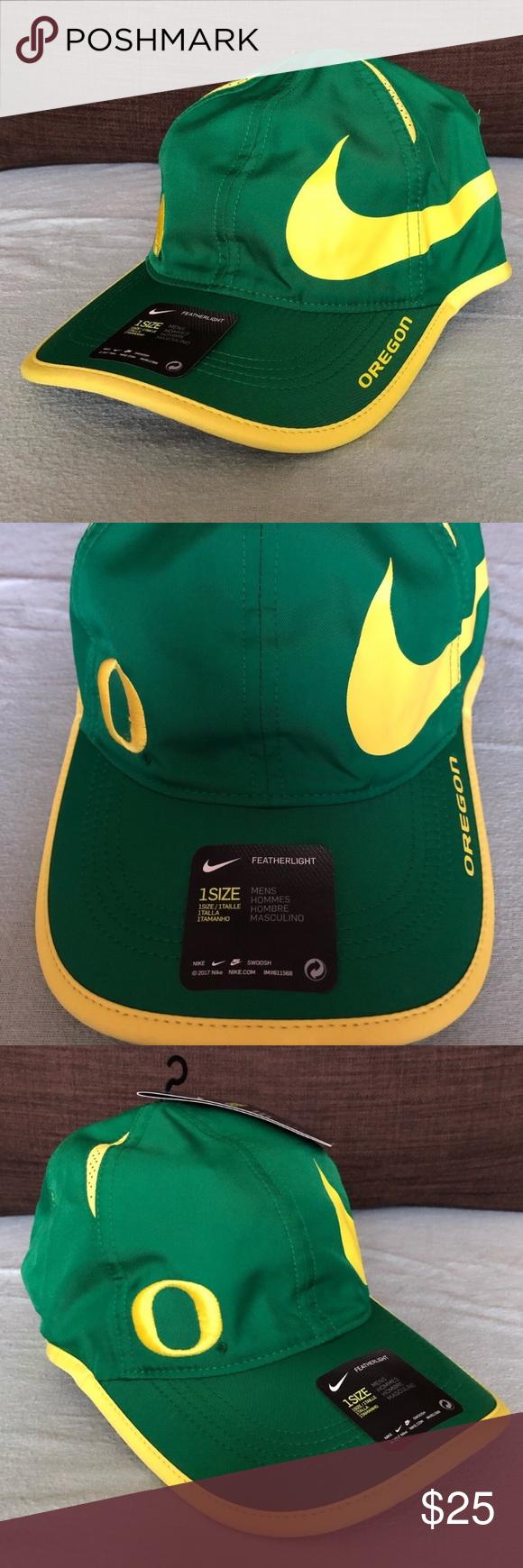 Oregon Ducks Ncaa Nike Dri Fit Adjustable Hat Nike Accessories Nike Dri Fit Adjustable Hat
