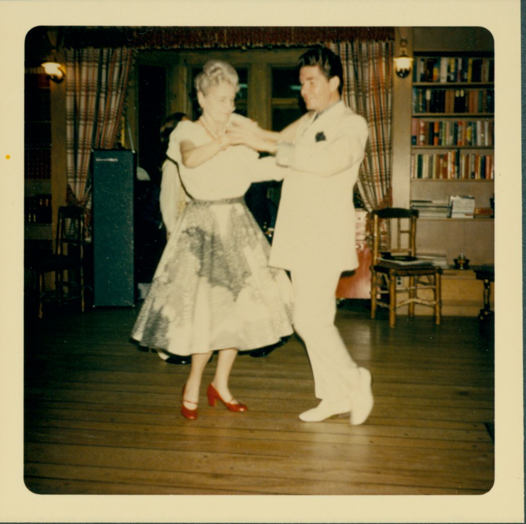 Marjorie Merriweather Post Dancing At Camp Topridge In