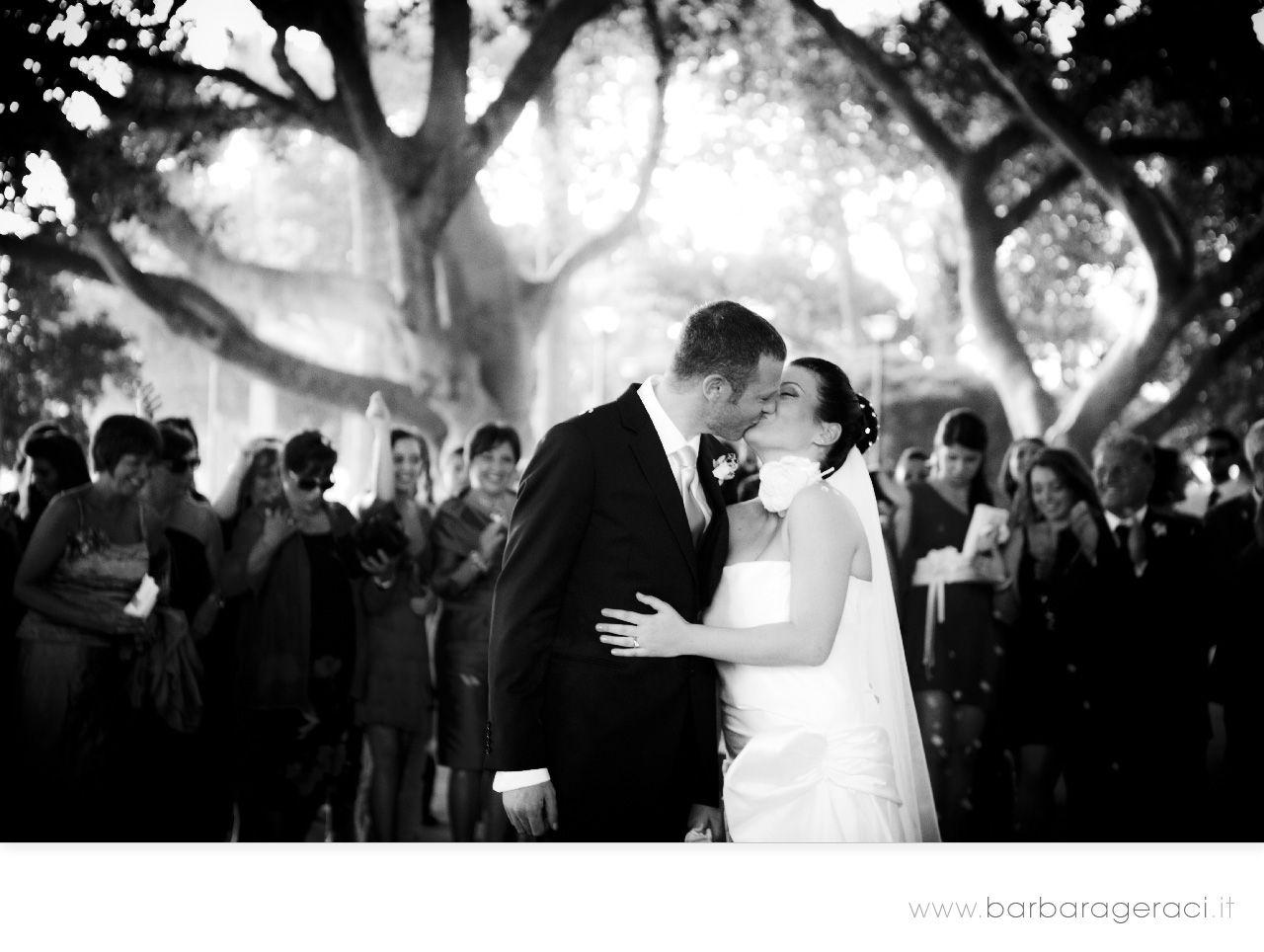 www.barbarageraci.it wedding kiss