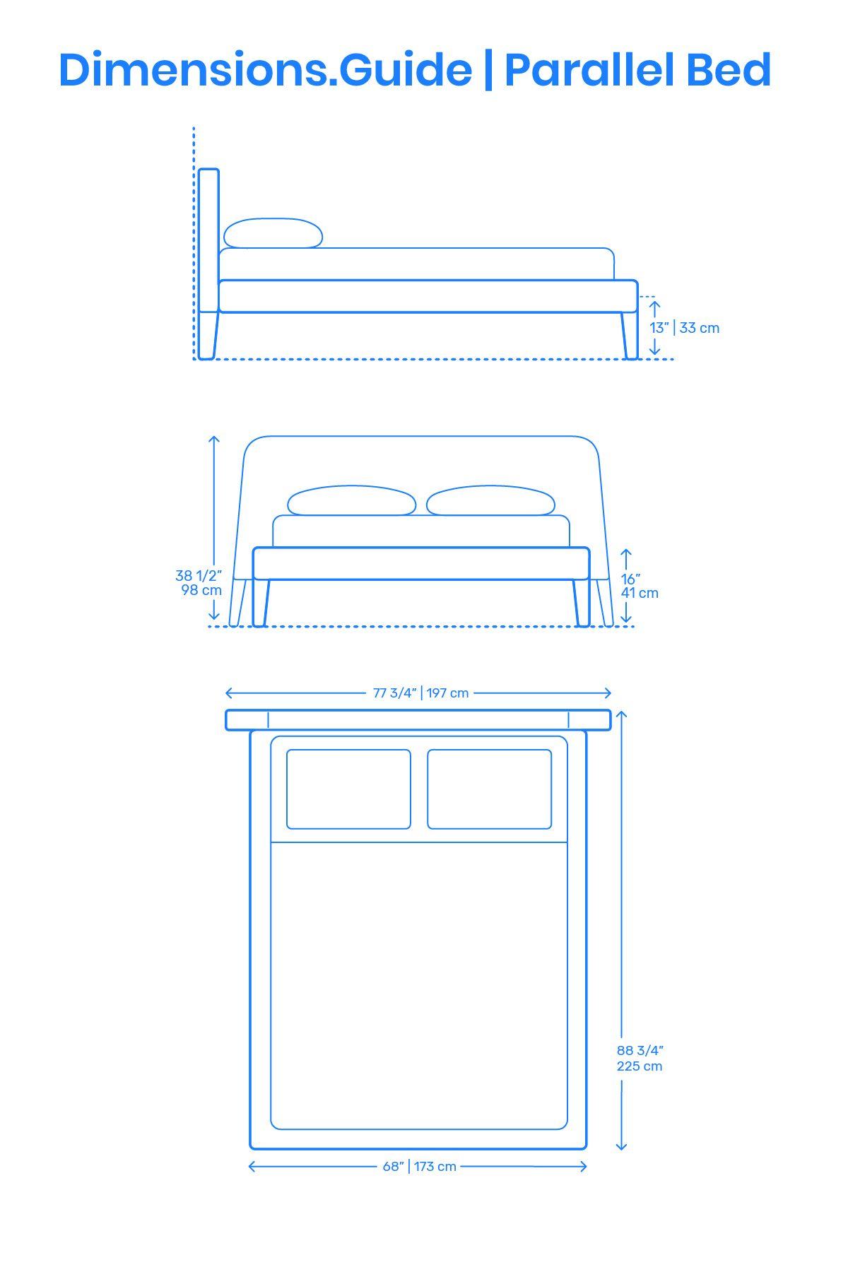 Parallel Bed Malm Bed Frame Bed Frame Design Bed Dimensions