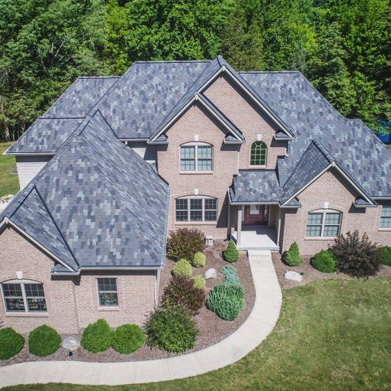 Best The Windsor Roofingshingle In Storm Grey 400 x 300