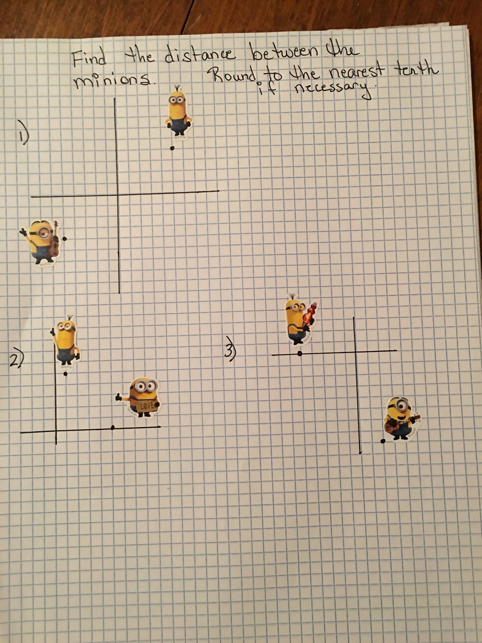 Finding Distance On The Coordinate Plane