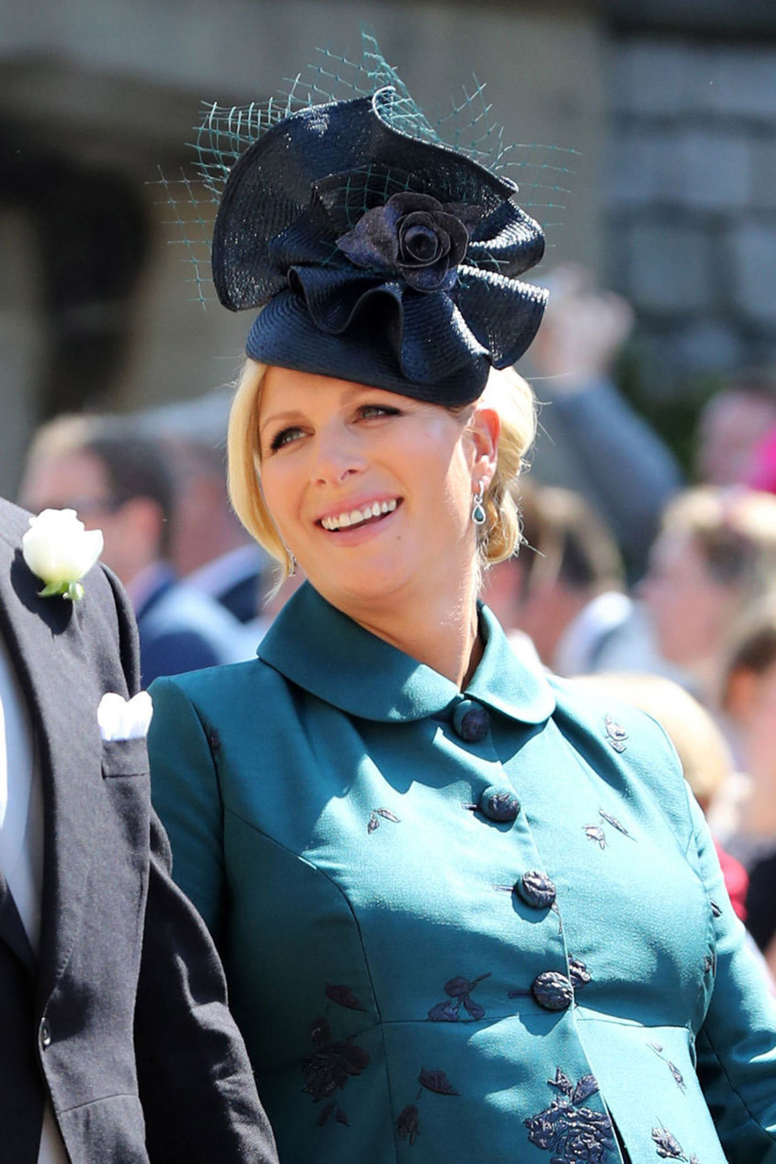 Zara Tindall - Cosmopolitan.com 23 of the Most Fascinating Fascinators From  the Royal Wedding be95620ba96