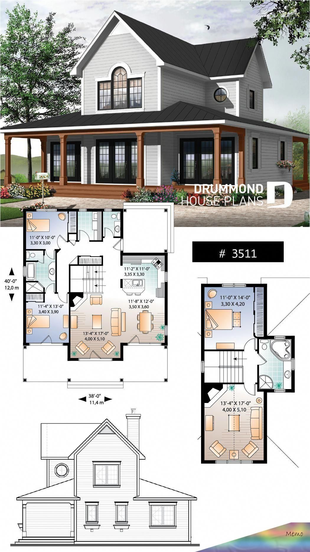 Pin By Modesta Kuhn On Sims In 2020 Family House Plans Lakefront Homes House Blueprints