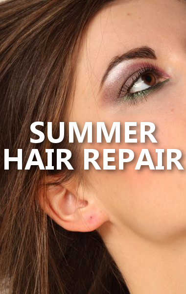 Whether you have green hair, summer frizz, or dry and