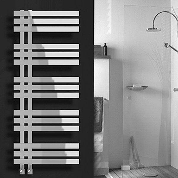 Vogue aquila towel radiator modern towel radiators - Radiator badezimmer ...