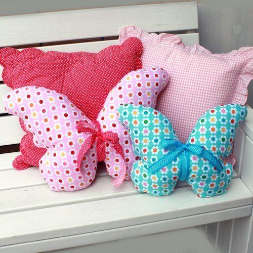 Butterfly-pillow