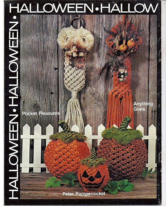 Holiday Knots Macrame Pattern Book Plaid 7339 by grammysyarngarden