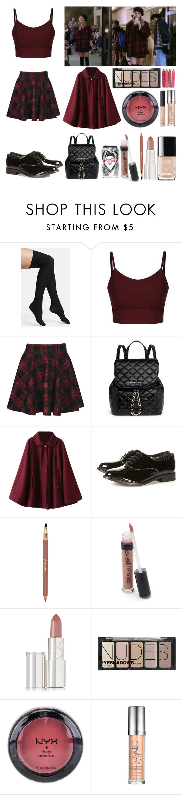 """""""Cher ♥"""" by shanelle-khl ❤ liked on Polyvore featuring Commando, Boohoo, MICHAEL Michael Kors, Chantal Thomass, Sisley Paris, Barry M, By Terry, H&M, NYX and Urban Decay"""